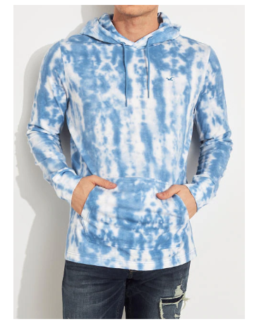 HOODED GRAPHIC TEE